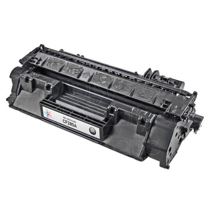 HP 80A Black Refurbished Toner Cartridge CF280A