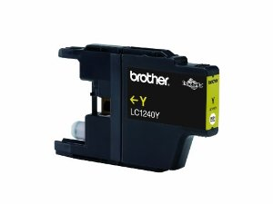 Brother LC1240Y Yellow Refurbished Ink Cartridge (LC-1240Y Inkjet Printer Cartridge)