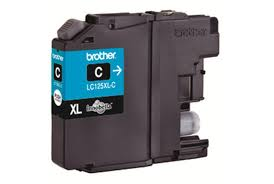 Brother LC125XL High Capacity Cyan Refurbished Ink Cartridge (LC-125XLC Inkjet Printer Cartridge)