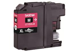 Brother LC125XL High Capacity Magenta Refurbished Ink Cartridge (LC-125XLM Inkjet Printer Cartridge)