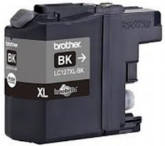 Brother LC127XL High Capacity Black Refurbished Ink Cartridge (LC-127XLBK Inkjet Printer Cartridge)