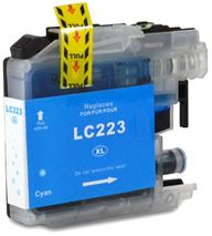 Brother LC223 Cyan Refurbished Ink Cartridge (LC223C Inkjet Printer Cartridge)