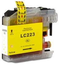 Brother LC223 Yellow Refurbished Ink Cartridge (LC223Y Inkjet Printer Cartridge)