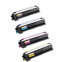 Brother TN230 B/C/M/Y Refurbished Toner Value Pack