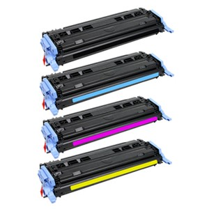 Canon 707 B/C/M/Y Refurbished Toner Value Pack