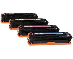 Canon 718 B/C/M/Y Refurbished Toner Value Pack