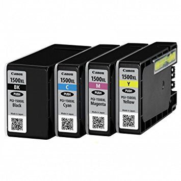 Canon PGI-1500XL Ink Cartridge 4 Colour Refurbished Multipack - (PGI-1500XL BK/C/M/Y)