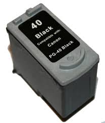 Canon Refurbished Black Canon PG-40 Ink Cartridge - (0615B001) PG40
