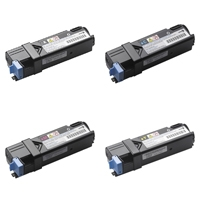 Dell 2150 B/C/M/Y High Capacity Refurbished Toner Value Pack
