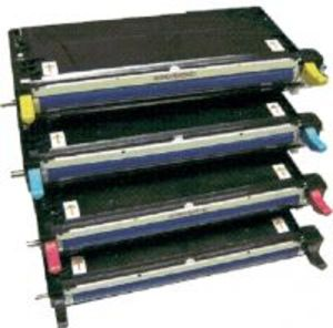 Dell 3110cn / 3115cn 4 Pack High Capacity Refurbished Toner Cartridge