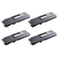Dell 3760 / 3765 B/C/M/Y Refurbished Toner Value Pack Product Code: DEL736PACK