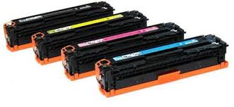 HP 128A B/C/M/Y Refurbished Toner VALUE Pack