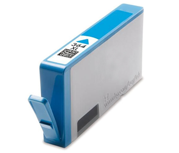 HP 364 Cyan Refurbished Ink Cartridge CB318EE