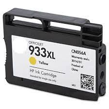 HP 933XL Yellow Refurbished Ink Cartridge - (CN056AE) HP 933