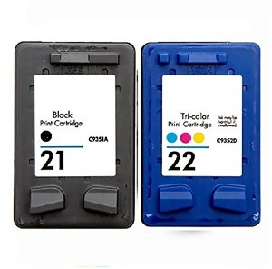 HP21 & HP22 Inkjet Cartridges-Refurbished c9351ae c9352ae SD367AE