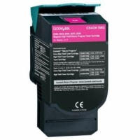 Lexmark C540H1MG C540 C544 C546 X543 X544 X546 Magenta High Yield Refurbished Toner