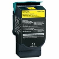 Lexmark C540H1YG C540 C544 C546 X543 X544 X546 Yellow High Yield Refurbished Toner