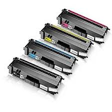 Multipack of Brother TN321 Refurbished Toner Cartridges  4 PACK