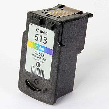 Refurbished High Capacity Tri-Colour Canon CL-513 Ink Cartridge - (2971B001AA)