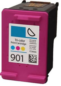 Refurbished Tri-Colour HP 901XL Ink Cartridge - (HP CC656AE)